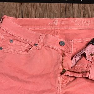 7 For All Mankind Jeans - 7 For All Mankind The Cropped Skinny Jeans
